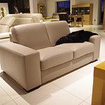 vesta sofa ze skóry ciemno kremowa