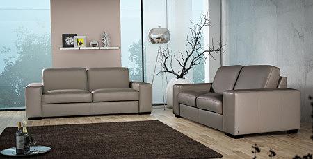 Vesta wypoczynek skórzany komplet wypoczynkowy sofa