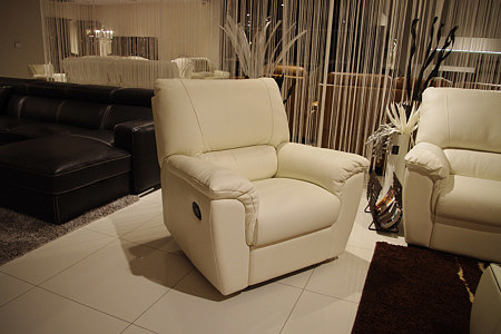 Vito fotel skórzany do salonu