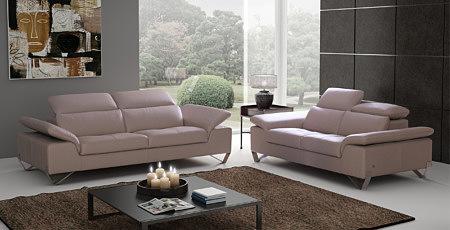 volare sofa skórzana kolor brązowy