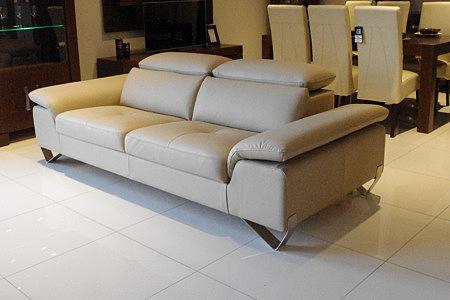 volare sofa skórzana z zagłówkami