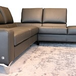 wygodna nowoczesna sofa narożnik