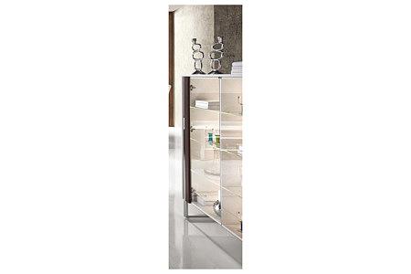 artvision komoda ze szklanymi drzwiami