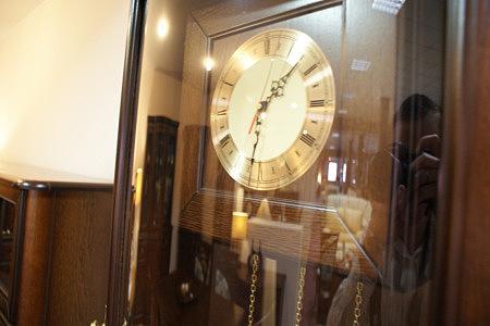 atena zegar klasyczny dębowy