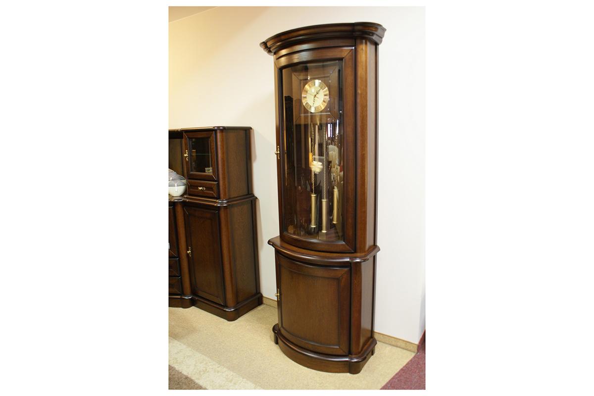 atena zegar stojący klasyczny z wahadłem dębowa obudowa