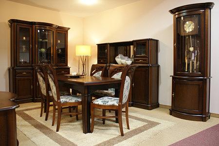 atena zestaw mebli klasycznych do salonu
