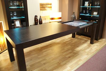 barcelona stół dębowy rozkładany do pokoju dziennego