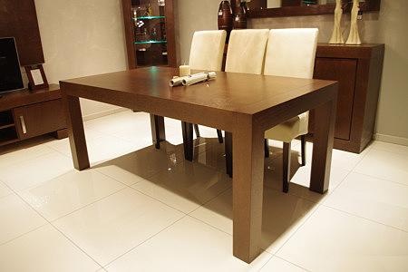 barcelona stół w okleinie olcha