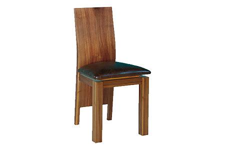 cassetti krzesło orzech amerykański siedzisko skórzane