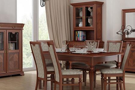 Kolekcja salon Dama pokój dzienny eleganckie meble do klasycznych stylowych wnętrz