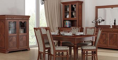 Kolekcja Dama meble pokojowe do klasycznych stylowych wnętrz