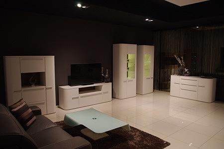 Delta bardzo nowoczesne meble do futurystycznego salonu