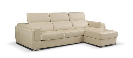 Diva biała kremowa elegancka sofa do nowoczesnego salonu