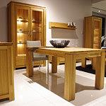 Faro meble klasyczne olcha stół wityna komoda