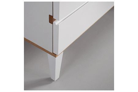 futureline biała szafka z prostą móżką