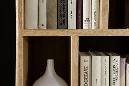 Granna classic dębowa szafka na książki