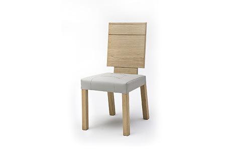 Granna classic krzesło dębowe tapicerowane