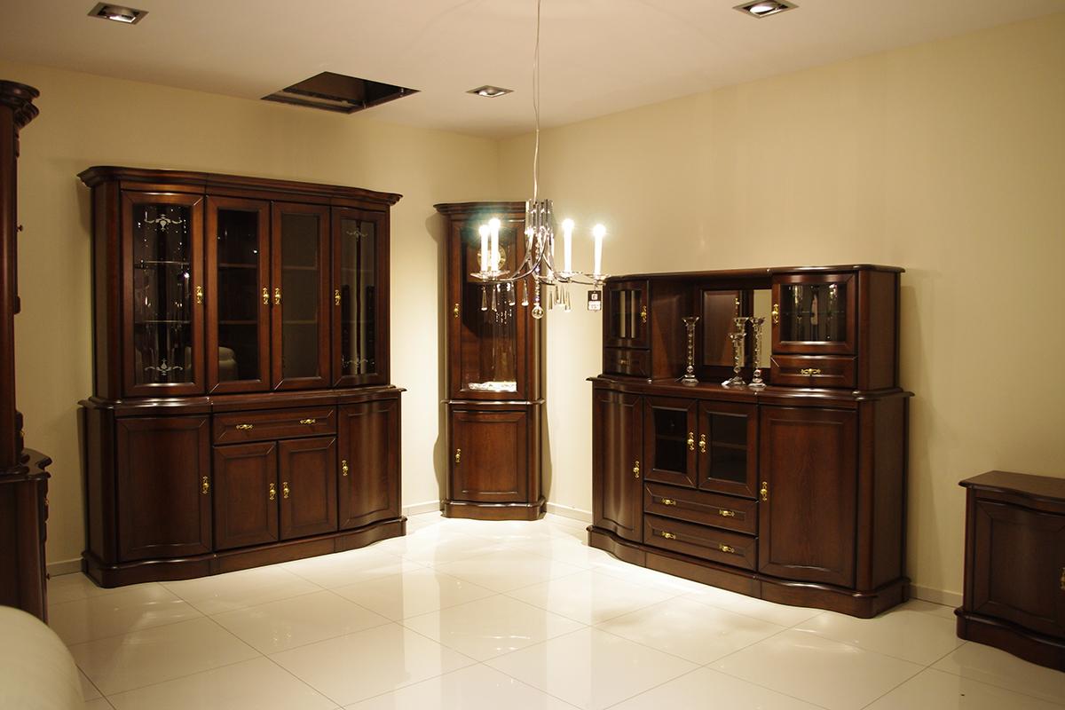 HERA - meble pokojowe, meble stylowe dębowe z elementami litego drewna, meble do jadalni *** TC ...