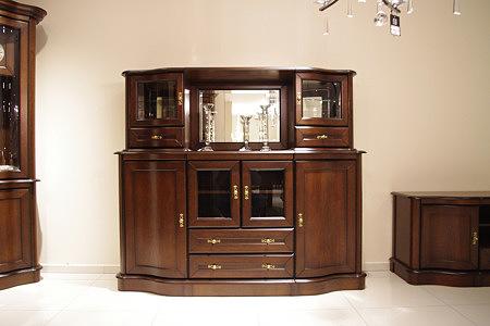 Hera kredens stylowy dębowy lite drewno
