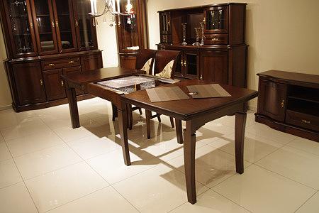 hera stół rozkładany dębowy styl klasyczny