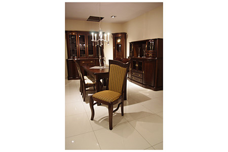 Hera stylowe krzesło dębowe lite drewno