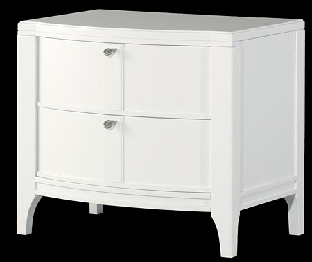 insolito biała szafla klasyczna forma mebli
