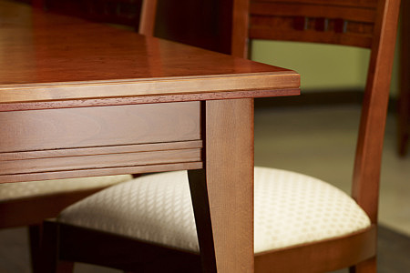 insolito czereśnia amerykańska blat stołu stylowego