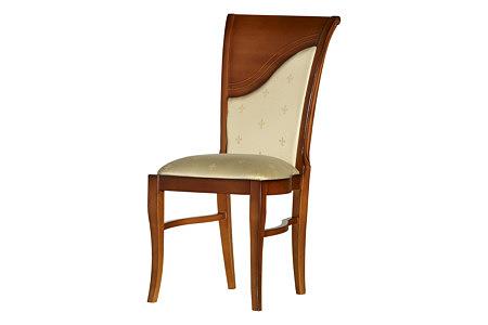 insolito krzesło tapicerowane czereśnia amerykańska