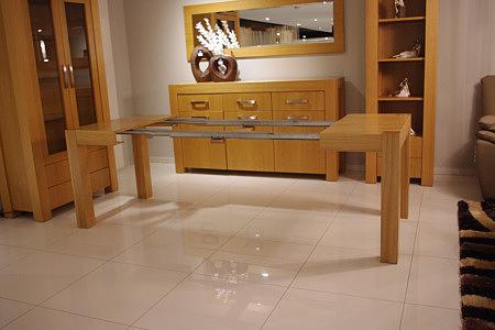 kanada duży stół rozkładany jasny dębowy