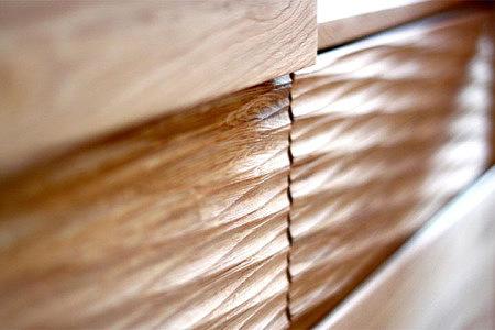 Malaren meble dębowe motyw drążonego drewna