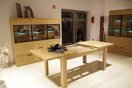 Massimo stół dębowy rozkładany lite drewno