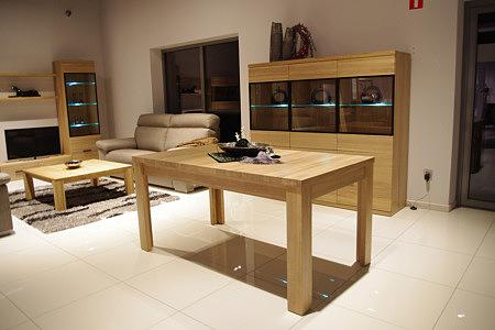 Massimo stół dębowy z litego drewna