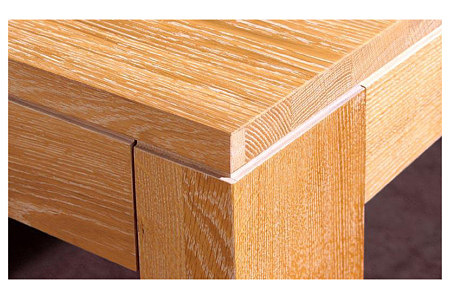 Nebroo stół efekt przecierane drewno