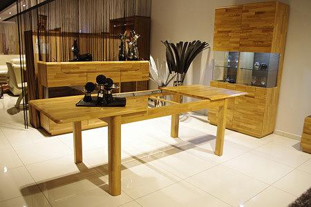 Palermo stół dębowy rozkładany - producent mebli na zamówienie z Wrocławia