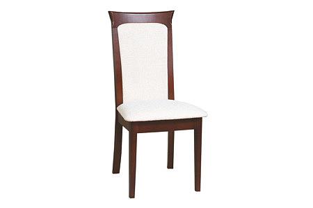 Regency krzesło białe siedzisko