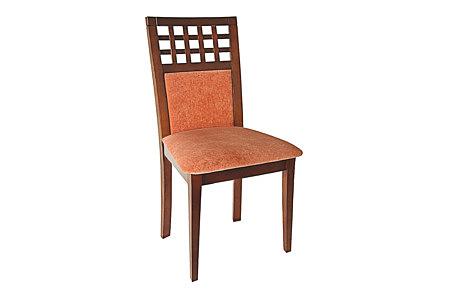 Regency krzesło tapicerowane ażutowe oparcie