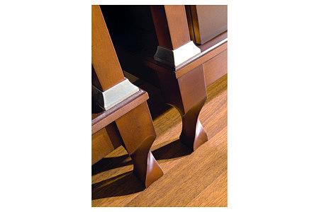 Regency zdobione nóżki mebli