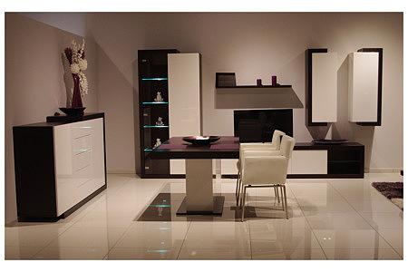 rodos zestaw mebli do salonu komoda stół witryna półki szafki