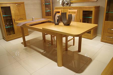 Sara2 stół rozkładany dębowy okleinowany