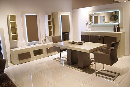 sevilla zestaw białych nowoczesnych mebli do salonu