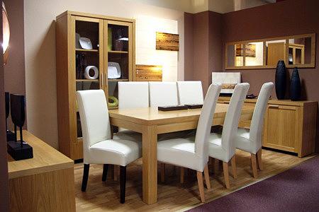 Kolekcja salon Tosca pokój dzienny zestaw mebli wykonywany jest z naturalnej okleiny dębowej
