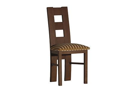 Tris krzesło dębowe tapicerowane