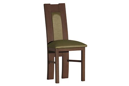 Tris krzesło tapicerowane dębowe