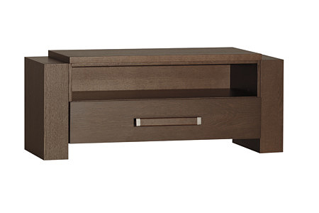 Tris mała szafka dębowa z jedną szufladą