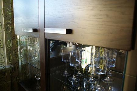 venus meble szafka ze szklanymi drzwiczkami