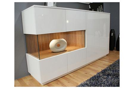 zeus biała szafka lakierowana na wysoki połysk