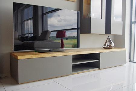 Apollo nowoczesny stolik pod telewizor do współczesnego salonu