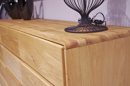 atlanta dębowa komoda do salonu nowoczesny design