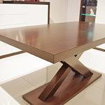Duży stół dębowy rozkładany nowoczesna forma