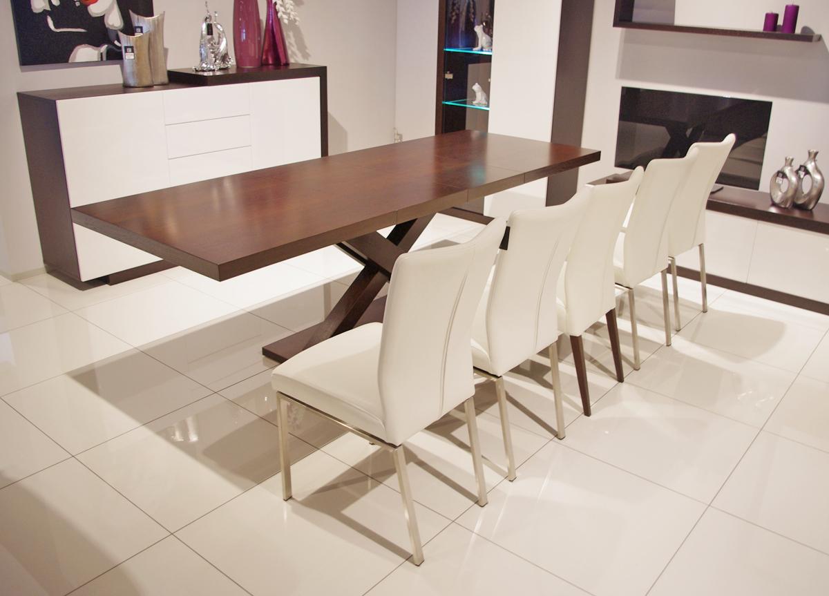 Duży Stół Rozkładany Do Nowoczesnej Jadalni Kuchni Tc Meble